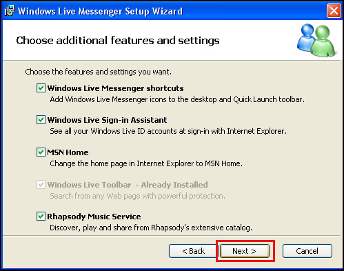 Using The Video Calling System with Windows Live Messenger
