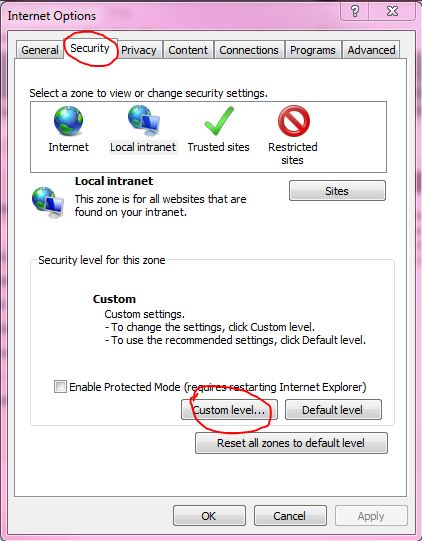 What do I do if ActiveX is blocked in I E - X10Wiki