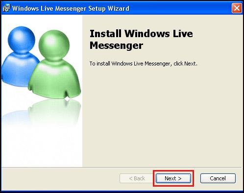 Install Msn