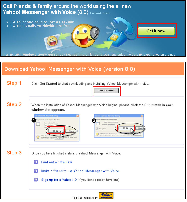 Yahoo! Messenger for iphone download.
